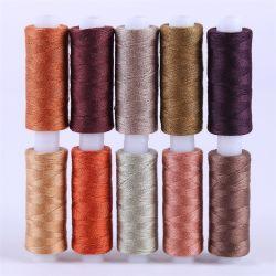 De promotie Draad van de Polyester van de Hardnekkigheid van de Wol van 4 Vouw 100g Hoge Poly Gesponnen