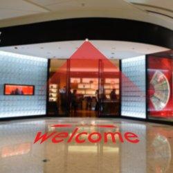 OEM barata de alta qualidade laser vermelho Projector de luzes de boas-vindas para KTV Hotel Porta