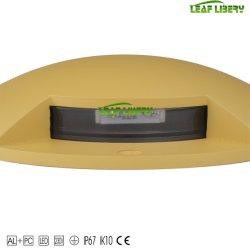Ultra Brilhante (6W) 4 LED grande no solo/ligado - a luz do LED de parede - branco 4000K GRANDE Over-Ground LED