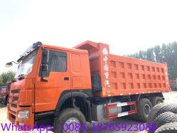 Utiliser des roues HOWO 371HP 10 LHD Rhd Camion de dumping de camion à benne Dumper camion à benne basculante de basculement du chariot chariot de la tête du tracteur 6X4 avec le bon état le moteur