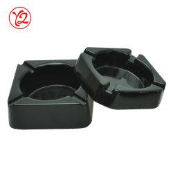 Umweltfreundliches Geschenkverzieren gesetzter Brown-Porzellan-rauchendes Set-Aschenbecher für