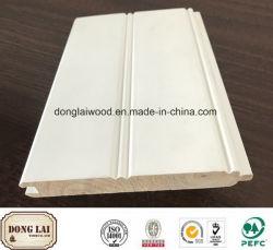 Resistente al agua de madera con aparejo de OEM blanco de alta calidad precio muy competitivo, el panel de pared de madera Accesorios para pisos