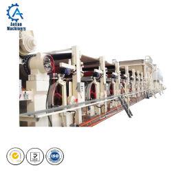 기계를 만드는 골판지를 위한 종이를 재생하는 폐기물 판지