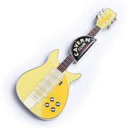 Fabrik Custom Logo Gitarre Form Metel Souvenir Schlüsselanhänger Handwerk