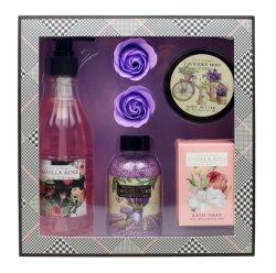 Parfum de lavande naturelle de la qualité du caviar Paper Box ensemble cadeau de bain