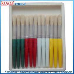 calcolatore 12PCS che pulisce l'insieme di spazzola di legno della maniglia