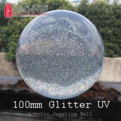 드주그글링 글리터 UV 아크릴 접촉 매직 저글링 볼 (선택 시 50-200mm)