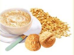 La leche de avena Desayuno instantáneo con harina de avena