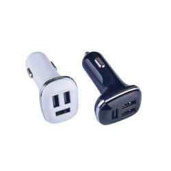 12V 4.8A Teléfono móvil 4 cargador coche USB Cargador de coche