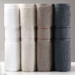Insieme di vendita caldo dello strato del bagno dei 2020 di anno 100% del cotone egiziano di mano del tovagliolo di fronte del tovagliolo tovaglioli di bagno