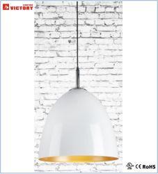 Simple à haute efficacité énergétique de l'ombre rond en aluminium lampe de la poignée de commande
