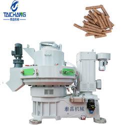 نفاية خشبيّة كريّة طينيّة يجعل آلة خيزران/نشارة خشب كريّة طينيّة مطحنة