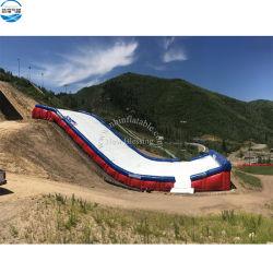 Bolsa de aire inflables gigantes de la tabla de snowboard, esquí Saltar a la venta de bolsa de aire inflables
