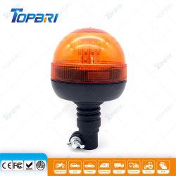 E-marque approuvée de gyrophare d'avertissement LED clignotant rotatif
