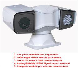 100m ночное видение 20X зум 2.0 Mega Pixel новый автомобиль камера PTZ