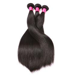 Brasilianisches Jungfrau-Haar gerade, Menschenhaar-Extensionen 100%