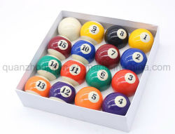 Oem High Quality Resin American Snooker Billiard Ball