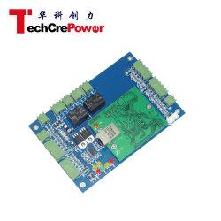 DC02-TCP 2 puerta de doble vía TCP/IP del controlador de acceso basado en la Web