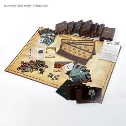Soem-Brettspiel-scherzt kundenspezifisches Brettspiel-Drucken Spiel-Vorstand-Kasten-Hersteller für Pappspiel-Drucken