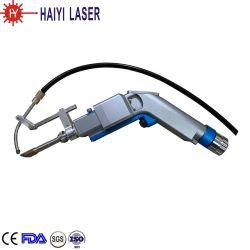 precio de fábrica de fibra Láser en mano de la cabeza de la soldadura con el auto Sistema de alimentación de alambre de 1000W 2000W