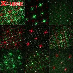 La luz exterior rg ocho patrones únicos iluminación