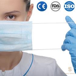처분할 수 있는 시민 의학 또는 외과 KN95 가면 Ce/FDA/TUV 증명서는 방어적인 Earloop Facial 가면을 3 부지런히 쓴다