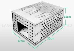Гуманных складной металлический сетчатый Rat Наживка станции Live поймать мышь ловушки отсека для жестких дисков