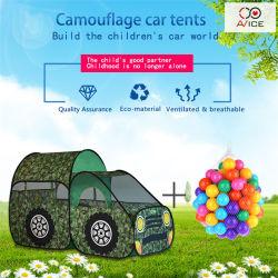 子供のための車テントは携帯用ケースが付いている折りたたみ式の演劇の家を