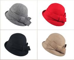 베레모 모자 여자 5를 위한 유행 모자 모직 베레모 모자