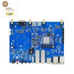 Ls1046UM Ubuntu 5g Development Board com USB3.0 PCIE SATA pode suportar 10GB Ethernet SFP