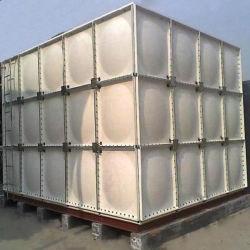 100000L вид в разрезе тип резервуара для воды из волокнита GRP резервуар для хранения воды