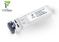Formato pequeno conectável 1310nm SFP+ LC 10km Transceptor HP Cisco Huawei Zte Juniper etc compatíveis 10GBASE-LR