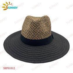 2021 de la moda de promoción de la playa de viaje Panamá sombrero de paja