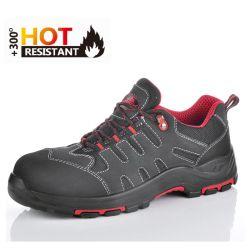 Calzado de caucho deportivo Casual de nuevo la Mujer de cuero Zapatos de seguridad