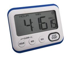 Blue Color Magnetic Digital Timer, Timer Kitchen, Learning Management Timer, geschikt voor Keuken, Studie, Werk, oefenen, buitenactiviteiten