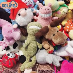 (Voorraad) het In het groot Goedkope PromotieStuk speelgoed van de Pluche, het Stuk speelgoed van Doll van de Machine van de Vangst, het Dier Gevulde Zachte Speelgoed van de Gift van het Huwelijk