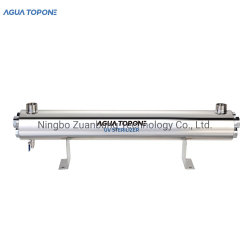 Agua TopOne 165W 36gpm Ozone Free 254nm Pool UV-sterilisator Met alarm