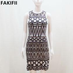 2021 Factoy Price High End Summer Women Luxry Party Dress أزياء الموضة