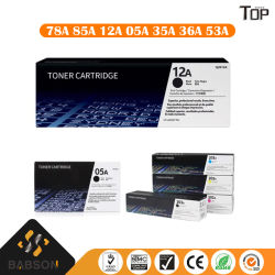 Commerce de gros 12A 78A 85A 83A 05A 26A HP Cartouche de toner Cartouche de toner de l'imprimante laser