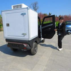 Fabrik liefern J2-C Mini Van Elektro-LKW Stadt Logistik Lieferung Elektroauto Lebensmittel Elektrofahrzeug heißer Verkauf in Europa