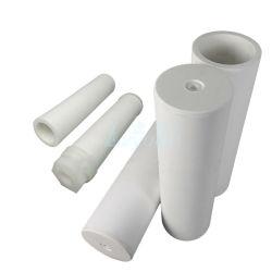 Filtration des liquides filtre tube en plastique 1/5/10 microns filtre poreux fritté PE pour le traitement de purification de l'eau