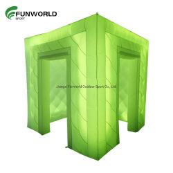 이동식 부스사진 큐브/팽창식 이벤트 큐브(LED 조명 포함