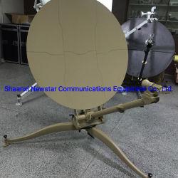 هوائي Ka Band 1.2 متر متطاير هوائي VSAT يدوي