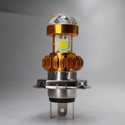6500K LED SABUGO Farol de motocicleta Moto frente a lâmpada da luz da lâmpada