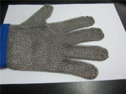 [ستينلسّ ستيل] شبكة يحمي قفّاز لأنّ أصابع