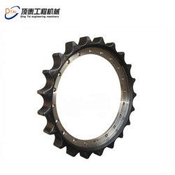 掘削機の下部構造の予備品のスプロケット車輪Ec100 Ec200 Ec210 Ec360 Ec460 Ec400