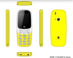 """Trois barres de la carte SIM de téléphone quadri-bande 1,8"""" SC6531e téléphone Mobile GSM enceinte 800mAh Batterie"""