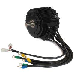 CE approuvé taille compacte de moteur BLDC 10kw nominale 85 N.m 4000tr/min Electric Motorcycle / kit Moto / Voiture kit de conversion de moteur, conduire votre moto 120km/h