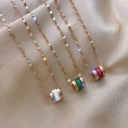 2021 أزياء جديدة علامة تجارية كبيرة سلسلة مجوهرات أنثى