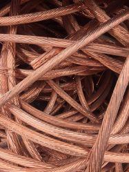 Kupfer-Schrott-Draht verwendeter Getränkedosen-Draht des Grad-99.7%Pure
